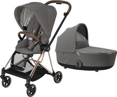 Kočárek CYBEX Mios Rosegold Seat Pack 2021 včetně korby - 1