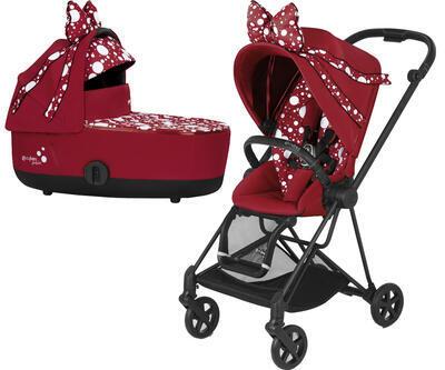 Kočárek CYBEX by Jeremy Scott Mios Seat Pack Petticoat Red 2021 včetně korby - 1