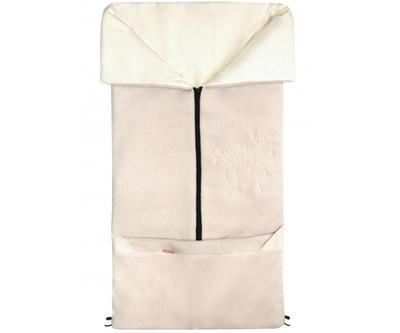 Fusak EMITEX Fanda 2v1 fleece s bavlnou 2020, béžový - 1