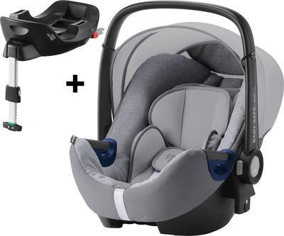 Autosedačka BRITAX RÖMER Baby-Safe2 i-Size Bundle Flex Premium Line 2021, grey marble - 1