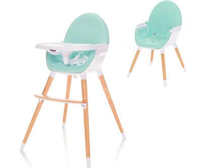 Jídelní židlička ZOPA Dolce 2021, ice green - 1