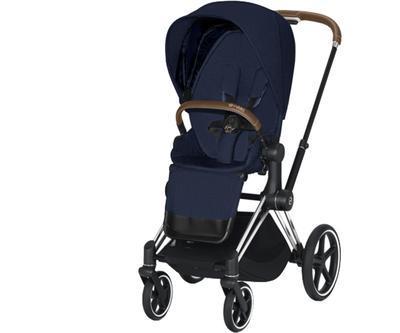 Kočárek CYBEX Priam Chrome Brown Seat Pack PLUS 2021 - 1