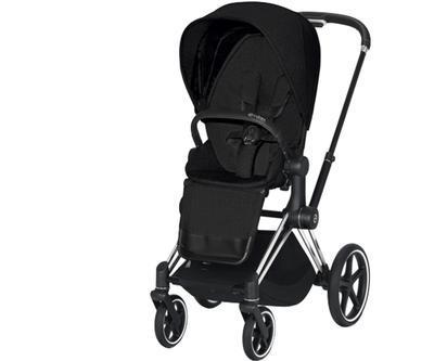 Kočárek CYBEX Priam Chrome Black Seat Pack PLUS 2021 - 1