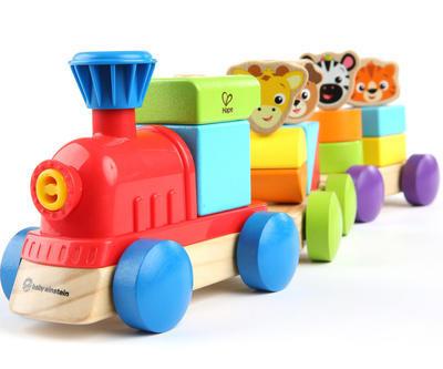 Dřevěná hračka BABY EINSTEIN Discovery Train HAPE 18m+ 2020 - 1