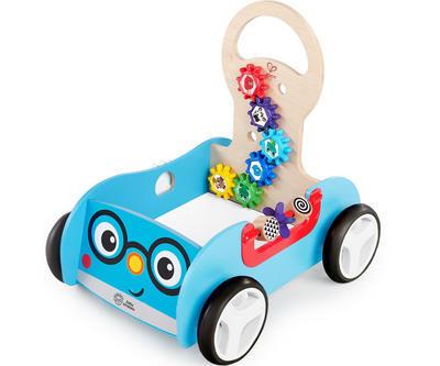 Dřevěná aktivní hračka BABY EINSTEIN Vlečka Discovery Buggy HAPE 12m+ 2020 - 1