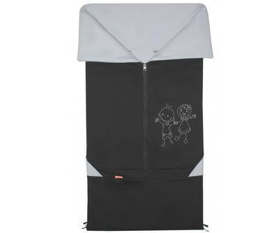 Fusak EMITEX Bary 2v1 bavlna 2021, černý - šedý - 1