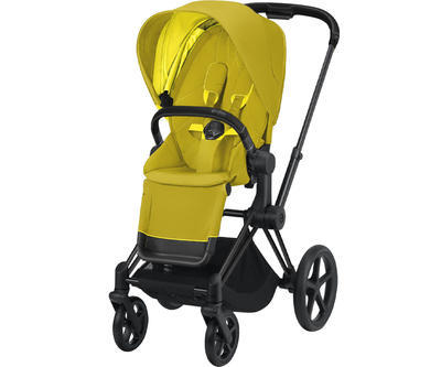 Kočárek CYBEX Priam Matt Black Seat Pack 2021 - 1