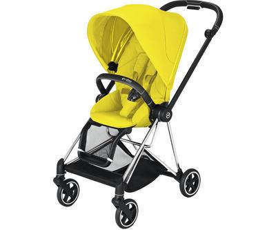 Kočárek CYBEX Mios Chrome Black Seat Pack 2021, mustard yellow - 1