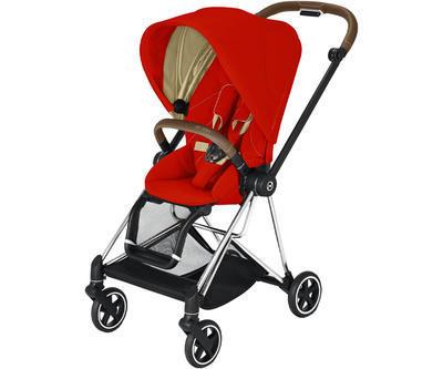 Kočárek CYBEX Mios Chrome Brown Seat Pack 2021, autumn gold - 1