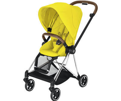 Kočárek CYBEX Mios Chrome Brown Seat Pack 2021, mustard yellow - 1