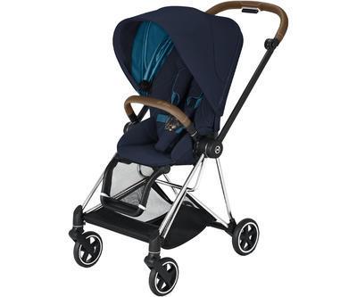 Kočárek CYBEX Mios Chrome Brown Seat Pack 2021, nautical blue - 1