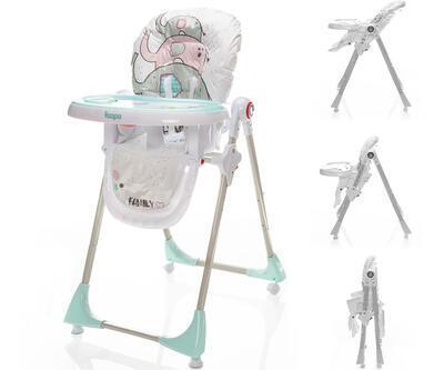 Jídelní židlička ZOPA Monti 2021, elephant herd - 1