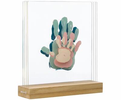 Dřevěný stojánek BABY ART Family Prints Wooden 2021 - 1