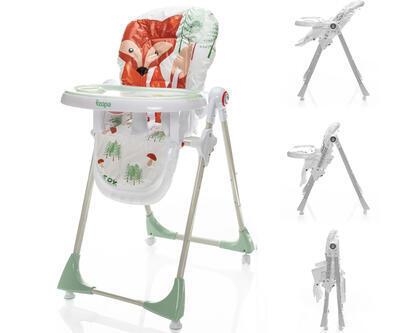 Jídelní židlička ZOPA Monti 2021, forest fox - 1