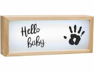 Dřevěný světelný box BABY ART Light Box with Imprint 2021 - 1