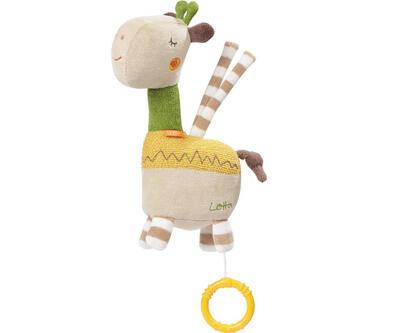 Hrací hračka BABY FEHN 2021, Loopy&Lotta Žirafa - 1