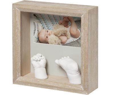 Dřevěný rámeček BABY ART My Baby Sculpture Stormy 2021 - 1