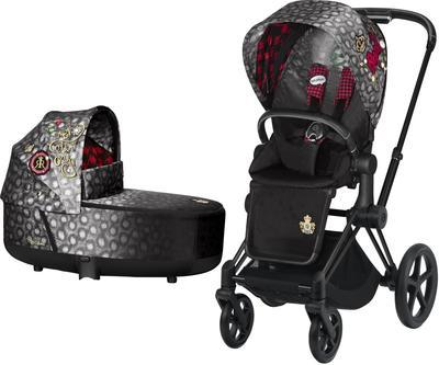 Kočárek CYBEX Priam Lux Seat Fashion Rebellious 2021 včetně korby - 1