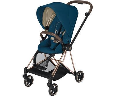 Kočárek CYBEX Mios Rosegold Seat Pack 2021, mountain blue - 1