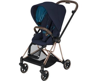 Kočárek CYBEX Mios Rosegold Seat Pack 2021, nautical blue - 1