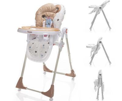 Jídelní židlička ZOPA Monti 2021, sleepy bear - 1