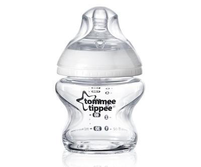 Kojenecká láhev TOMMEE TIPPEE C2N 0+m skleněná 150ml, 1ks 2020 - 1
