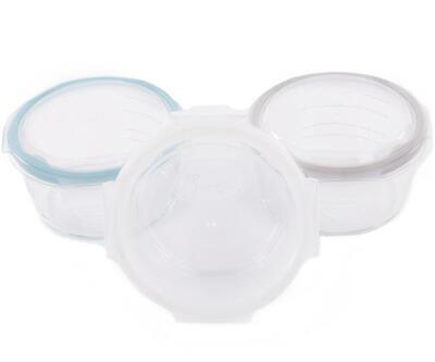 Skleněné misky s víčky BO JUNGLE B-Glass Bowls 280ml 2021 - 1