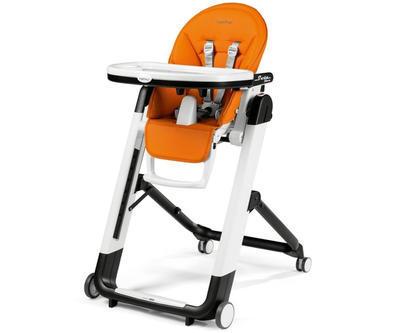 Jídelní židlička PEG PÉREGO Siesta Follow Me 2021 + DÁREK, arancia - 1