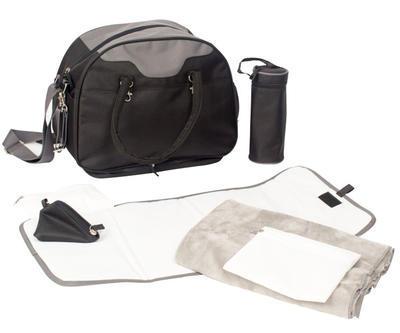 Přebalovací taška BO JUNGLE B-City 2021, black - 1