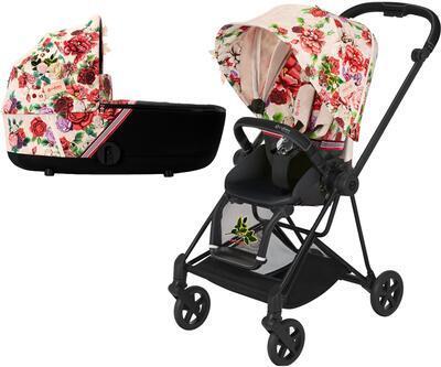 Kočárek CYBEX Mios Seat Pack Fashion Spring Blossom 2021 včetně korby - 1