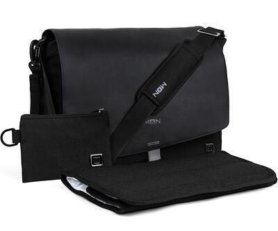 Přebalovací taška MOON 2021, black/black - 1