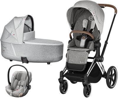 Kočárek CYBEX Set Priam Lux Seat Fashion Koi 2020 včetně autosedačky - 1