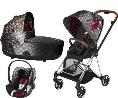Kočárek CYBEX Set Mios Seat Pack Fashion Rebellious 2021 včetně autosedačky - 1