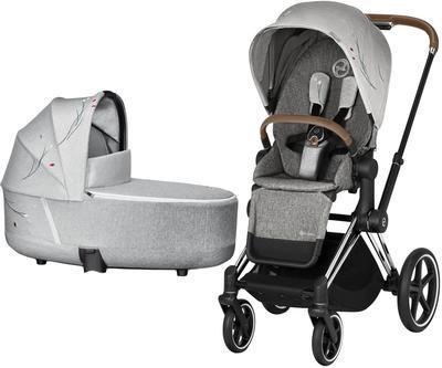 Kočárek CYBEX Priam Lux Seat Fashion Koi 2020 včetně korby - 1