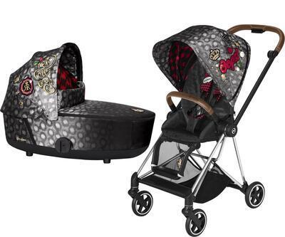 Kočárek CYBEX Mios Seat Pack Fashion Rebellious 2021 včetně korby - 1