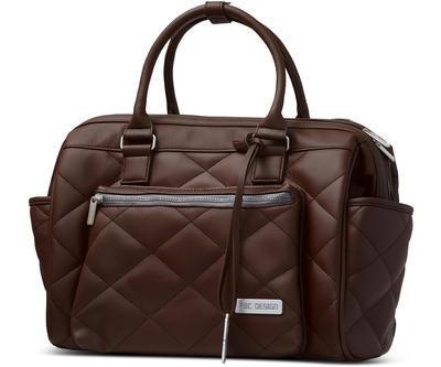 Taška na pleny ABC DESIGN Style 2021, dark brown - 1