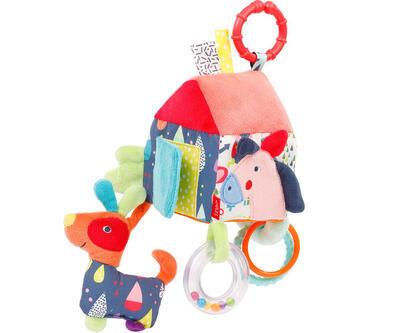 Color Friends BABY FEHN Aktivity hračka 2021, domeček - 1