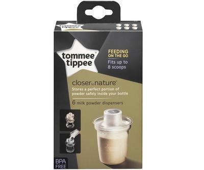 Dávkovač na sušené mléko TOMMEE TIPPEE C2N 6 ks 2020