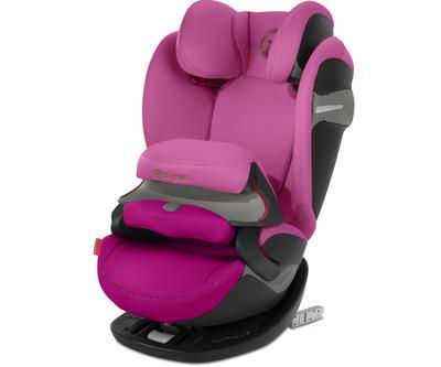 Autosedačka CYBEX Pallas S-fix Gold Line 2019, fancy pink - 1