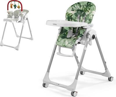 Jídelní židlička PEG PÉREGO Prima Pappa Follow Me 2021 + DÁREK, foliage - 1