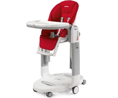 Jídelní židlička PEG PÉREGO Tatamia Follow Me 2019, fragola - 1