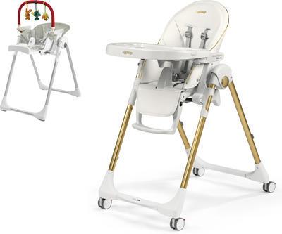 Jídelní židlička PEG PÉREGO Prima Pappa Follow Me 2021 + DÁREK, gold - 1