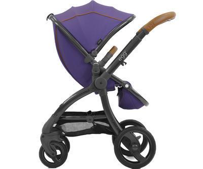 Kočárek BABYSTYLE Egg® 2018 + DÁREK, gothic purple/gun metal rám - 1