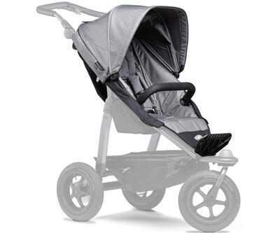 Sportovní sedačka TFK Stroller Seat Unit Mono 2021, grey - 1