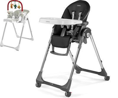 Jídelní židlička PEG PÉREGO Prima Pappa Follow Me 2021 + DÁREK, hi-tech licorice