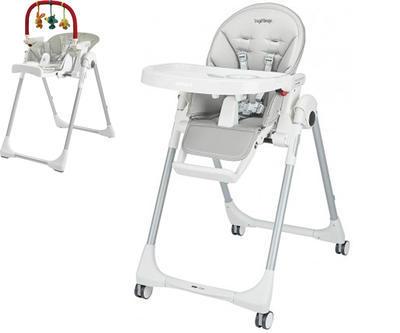 Jídelní židlička PEG PÉREGO Prima Pappa Follow Me 2021 + DÁREK, ice