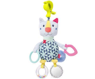 Color Friends BABY FEHN Aktivity hračka 2021, kočka - 1