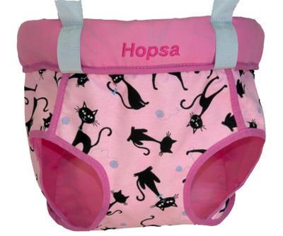 Skákadlo HOPSA Kočka 2020, růžová - 1