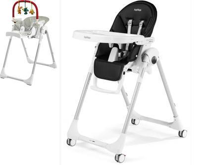 Jídelní židlička PEG PÉREGO Prima Pappa Follow Me 2021 + DÁREK, licorice