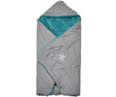 Multifunkční zavinovačka LITTLE ANGEL Mazlík Outlast® 2020, šedá/mentolová - 1
